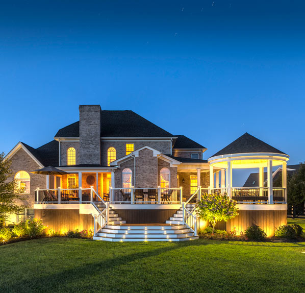 Blueline landscaping lighting
