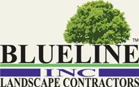 Blueline Landscapeing logo